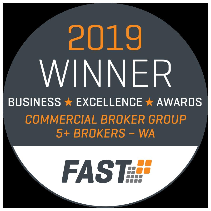 FAST 2019 Commercial Broker Award