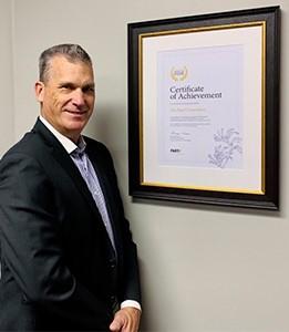 Business Finance Award Winner Michael Coombes